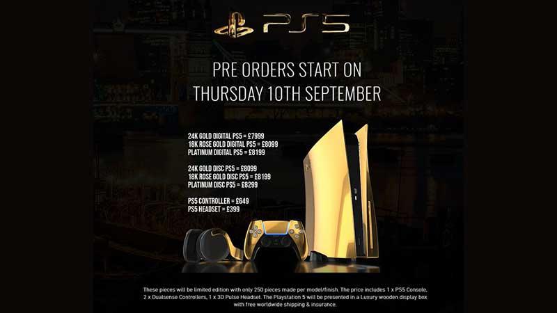 Playstation 5 prenotazioni