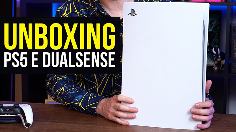 Playstation 5 Video Unboxing