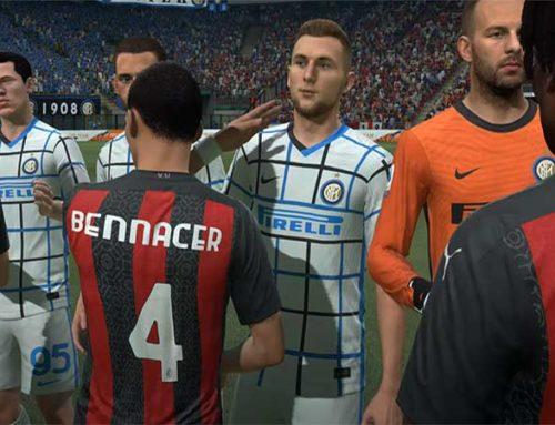 Fifa 21 Derby di Milano giocato su Playstation 5
