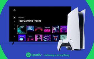 Spotify Playstation 5