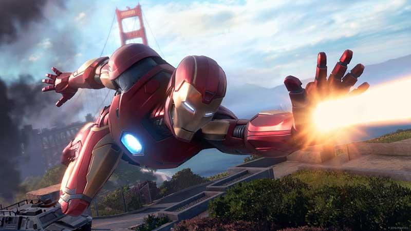Avengers su Playstation 5