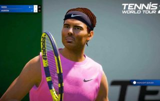 Tennis World Tour 2 PS5 Federer Nadal 4K 60FPS